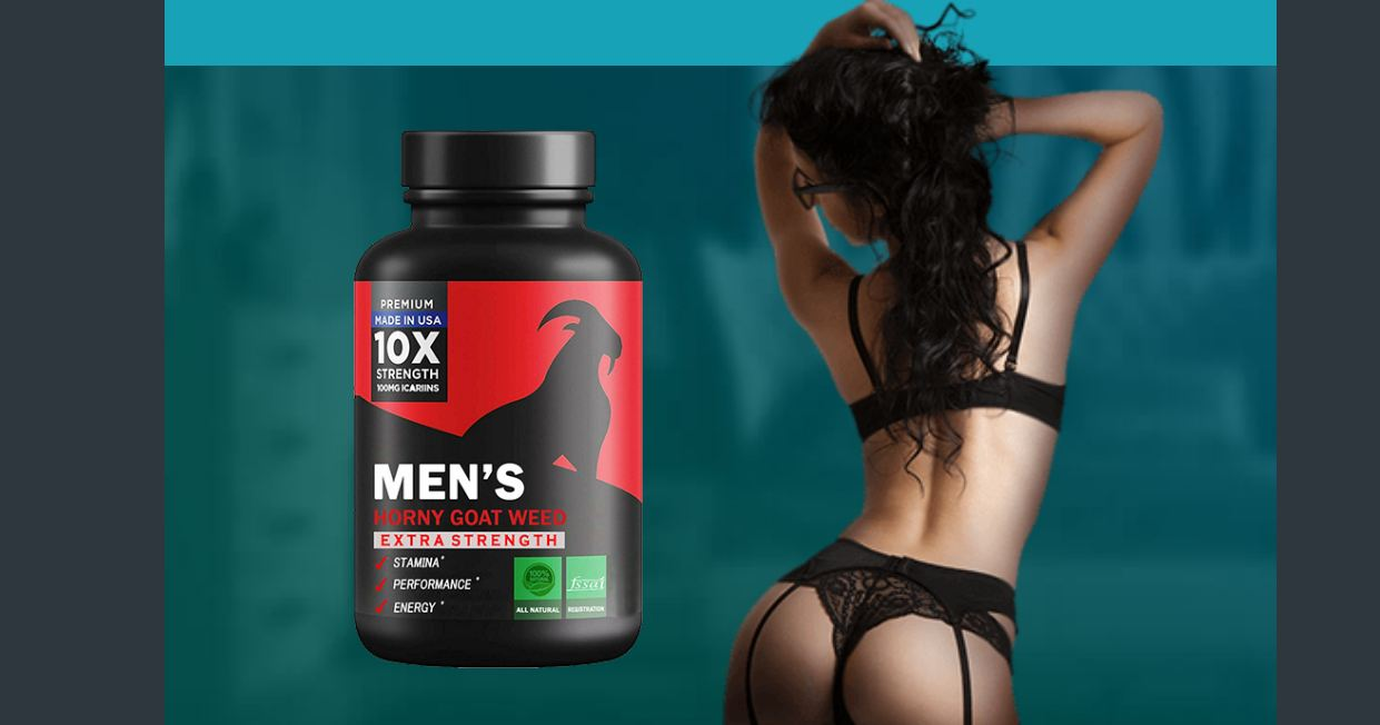 Men'S Horny Goat Weed – Made In USA 10X Strength 100 MG! Order